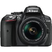 Nikon D5300 DSLR Camera with AF-P DX NIKKOR 18-55 mm f/3.5-5.6 G VR Lens (Black)