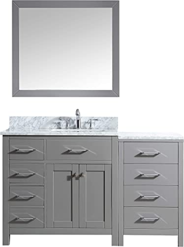 Virtu USA MS-2157L-WMSQ-CG-001 Caroline Parkway Bathroom Vanity