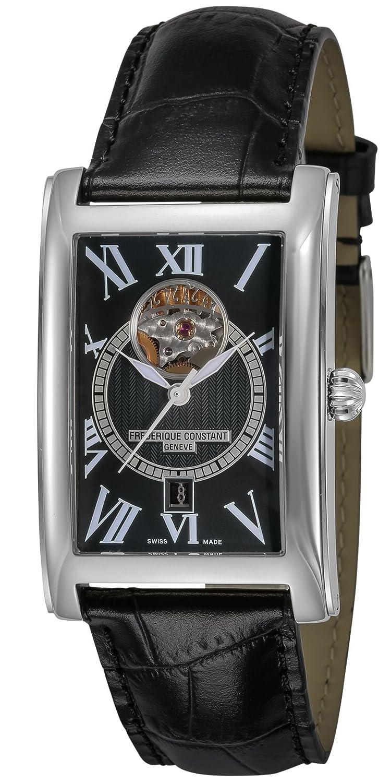 [フレデリックコンスタント]FREDERIQUE CONSTANT 腕時計 クラシック カレ ハートビート ブラック文字盤 315BS4C26 メンズ 【並行輸入品】 B078YGQ318