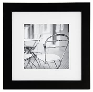 Amazon.com: Burnes of Boston Gallery Solutions 12X12 Frame, Matted ...