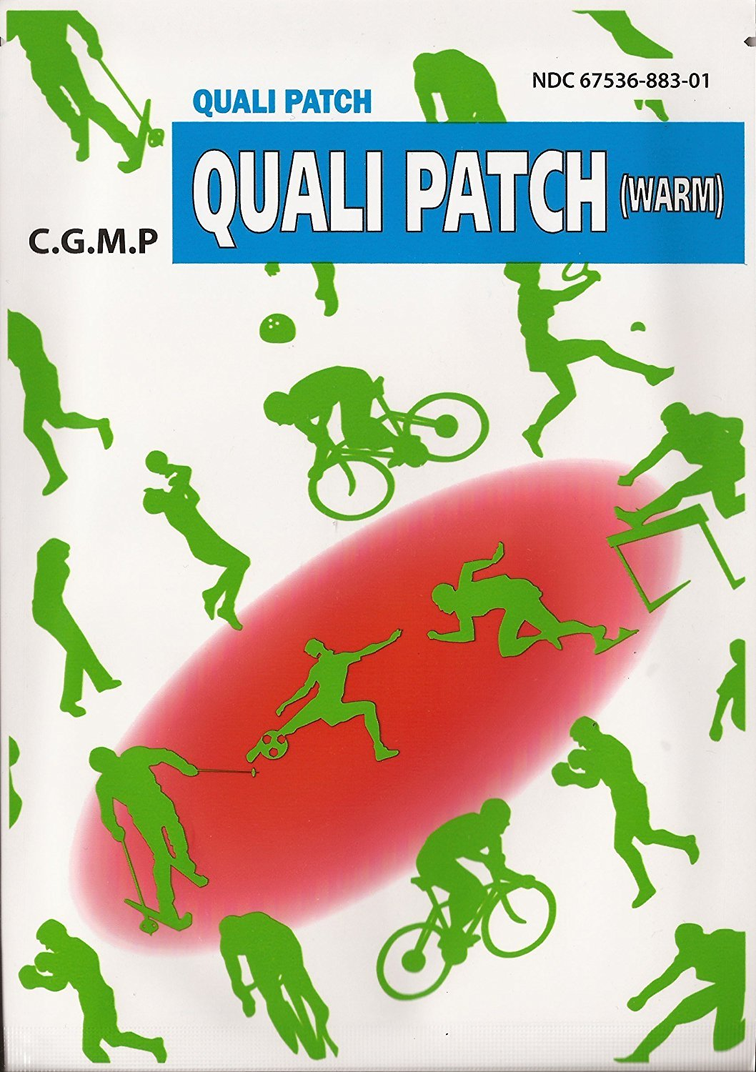 Quali Patch Warm Pain Relief 10 Pack 2 Frame Pato Fx 1 Alloy Sheets Per Health Personal Care