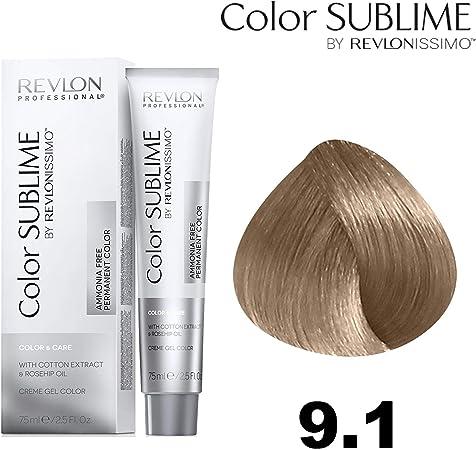 Revlonissimo Color sublime 75 ml, Color 9.1: Amazon.es: Belleza