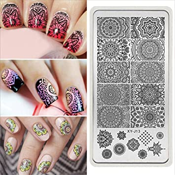 Amazon Beautybigbang Mandala Nail Art Stamp Plate Mandara