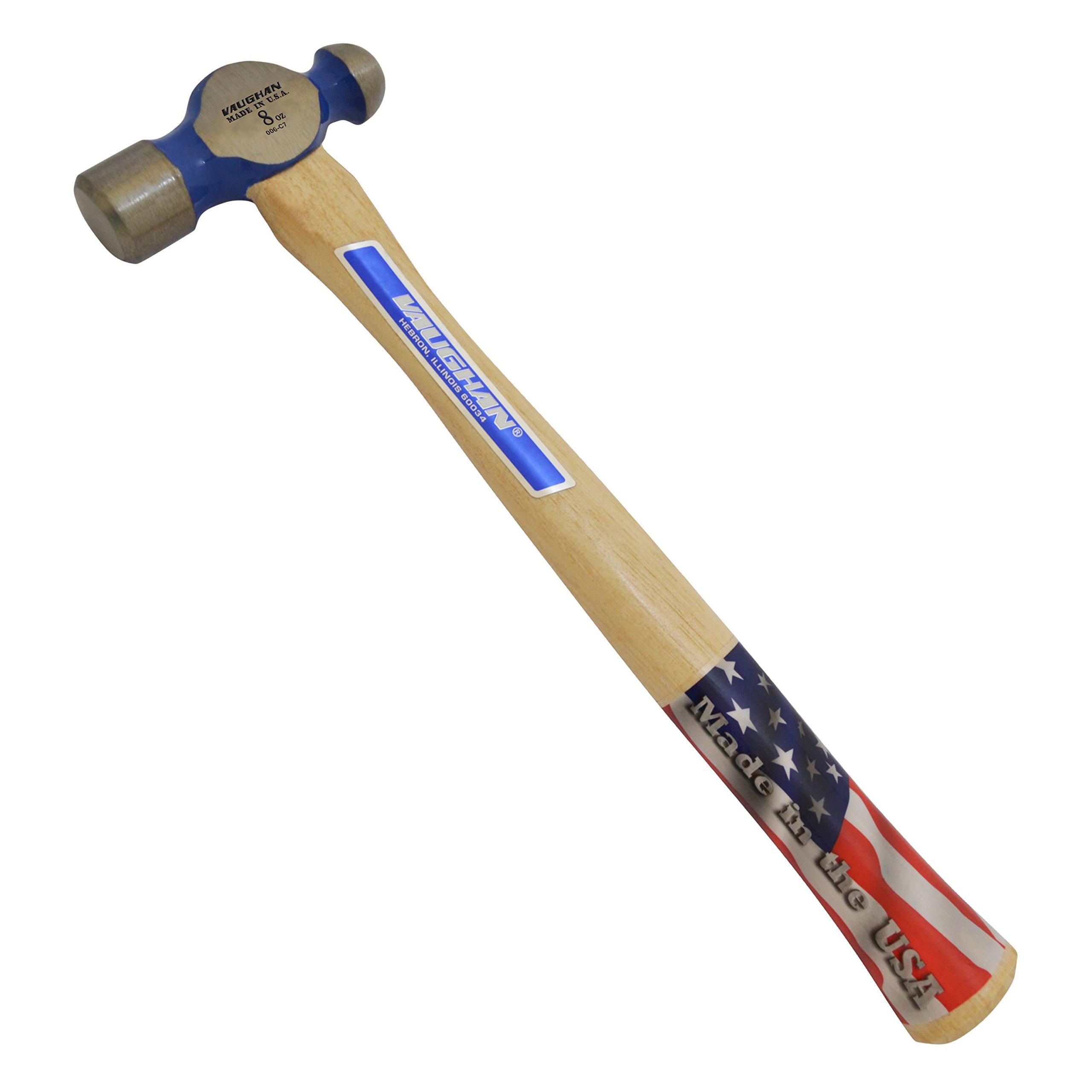 Vaughan TC308 8-Ounce Commercial Ball Pein Hammer