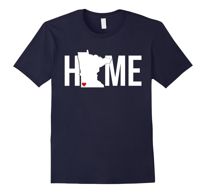 I Love My Home Minnesota State T-Shirt-TH