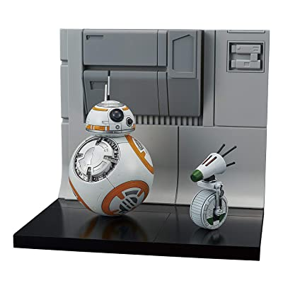 Bandai Hobby Star Wars Model Kit 1/12 BB-8 & D-0 Diorama Set: Toys & Games