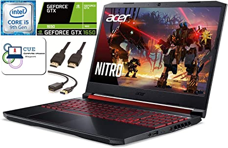 Amazon Com Acer Nitro 5 15 6 Fhd Gaming Laptop 9th Gen Intel Quad Core I5 9300h Nvidia Geforce Gtx 1650 8gb Ddr4 Ram 256gb Nvme Ssd Wifi 6 Maxxaudio Backlit Keyboard Windows 10