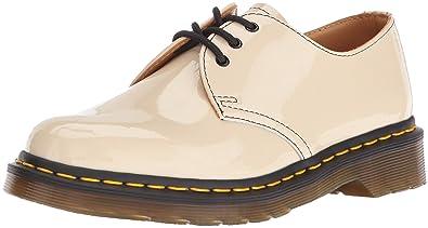 Chaussures Dr Martens 1461 Porcelain Patent Lamper MbGES1GN