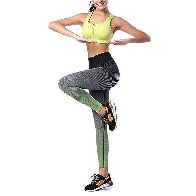 Das Leben - Pantalon de Sport - Femme XL - Vert - L  Amazon.fr ... d5e3cb9427d