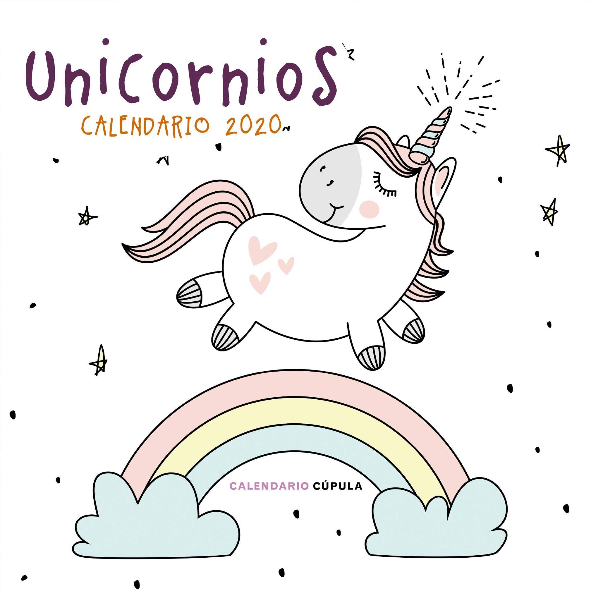 Calendario Unicornios 2020 (Calendarios y agendas): Amazon.es: AA ...