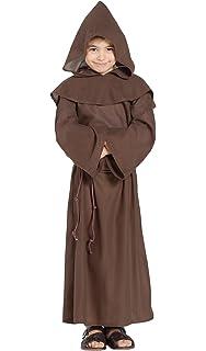 Disfraz de Fraile o Monje para niños en varias tallas: Amazon.es ...