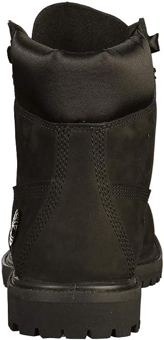 A1tjq Cuir Chaussures En Bottes Nubuck Femme 6in Noir Timberland Premium E9YW2DHI