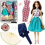 Teresa Ensemble de Mode | Barbie Poupée | Mattel DJW59 | Vêtements & Accessoires