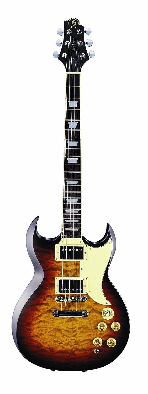 Greg Bennett Torino 2 - Guitarra eléctrica, color vintage sunburst: Amazon.es: Instrumentos musicales