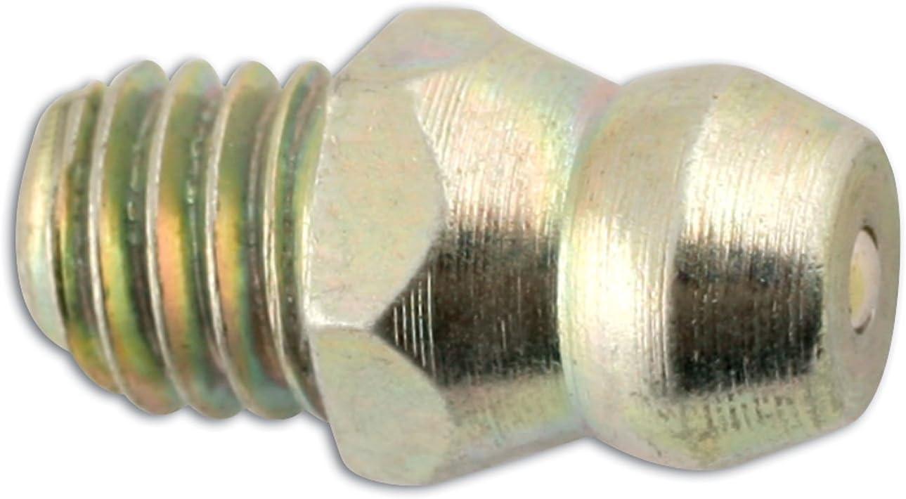 Connect 31210 Confezione da 50 ingrassatori Diritti M6 x 1 mm