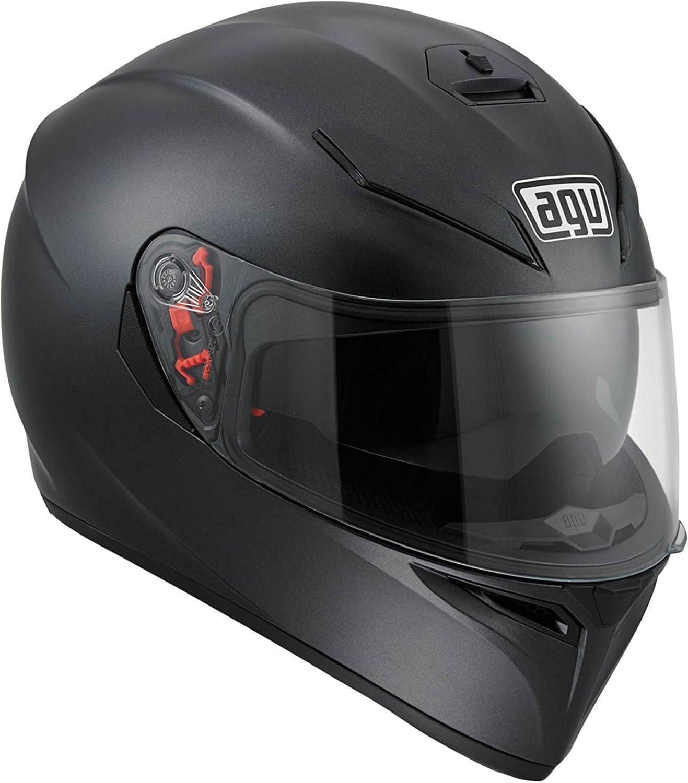 Matte Black, Large AGV 0101-7486 K-3 SV Motorcycle Helmet