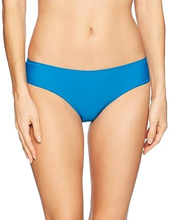 6e47c18e4a8 Amazon.com: Volcom Women's Simply Solid Cheeky Bikini Bottom: Clothing