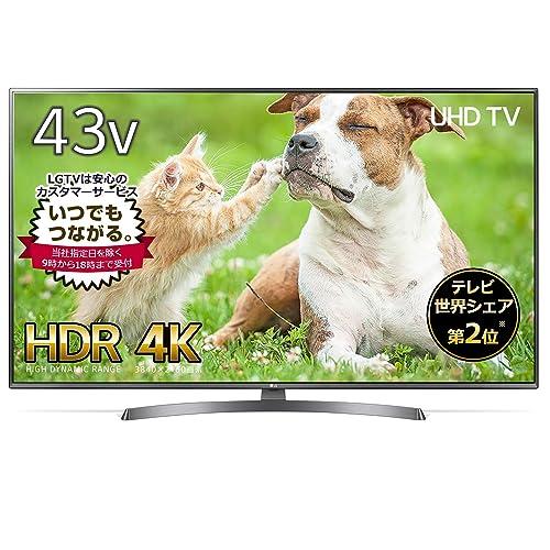 LG 4K液晶テレビ 43UK6500EJD(43V型)