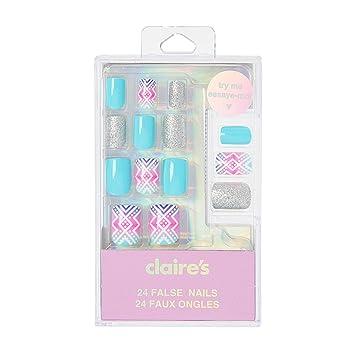 Amazon.com: Claire s y mujer y Ombre impresión azteca uñas ...