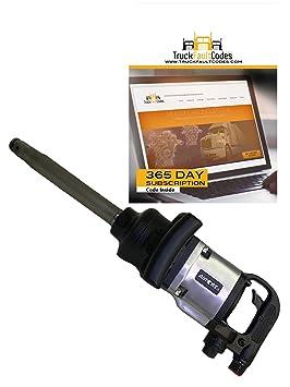 """AIRCAT 1992 Heavy Duty Pistola De Impacto llave de aire neumática 1 """"y"""""""