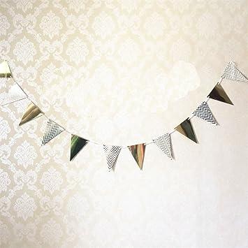 Amazon.com: Banderines para fiesta de cumpleaños, decoración ...