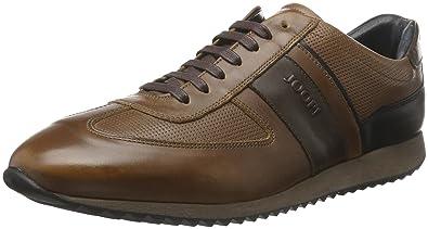 Hernas Sneaker Calf/Nylon/Print Calf, Mens Low-Top Sneakers Joop