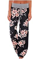 Aifer Women's Pajama Comfy Chic Floral Print...