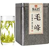 梅府茗家茶叶 绿茶 黄山产区毛峰春茶 明前特级罐装100克