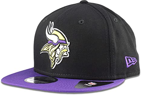Image Unavailable. Image not available for. Color  New Era Minnesota Vikings  Hat NFL Black Purple 2Tone 9FIFTY ... 7ff8bdedb