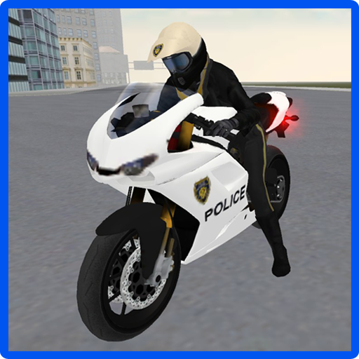 Police Motorbike Simulator 3D (Motorbike Race)