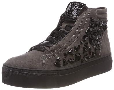 Amazon.com   Marco Tozzi Sneaker 25257 Dark Grey Comb Size EU 37 ... 4672a9de53