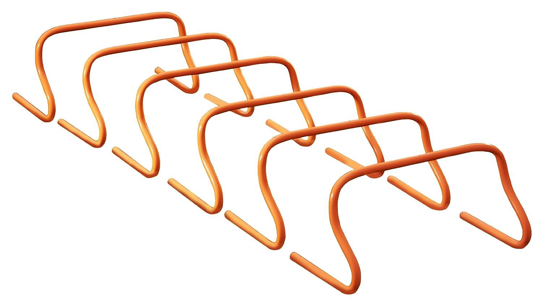 Mitre TrainingHurdles - Equipamiento, tamaño 30 cm, color naranja