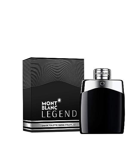 Amazon.com  MONTBLANC Legend Eau de Toilette 3.3 fl.oz.  Mont Blanc Legend   Luxury Beauty 4c19f877916