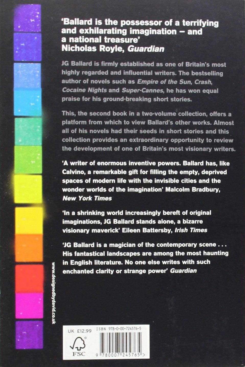 Theplete Short Stories Vol 2 (v 2): J G Ballard: 9780007245765:  Amazon: Books