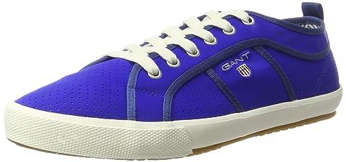 GANT 14639614 - Zapatillas de Sintético Hombre, Color Azul, Talla 44 EU: Amazon.es: Zapatos y complementos
