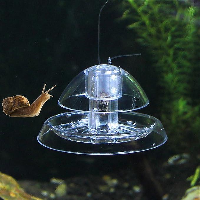 Fdit Snail Catcher Tanque de Peces Plantas Tanque de Peces De Acuario Captura de Plagas Acuario Planta de Tanque Peces Trampa de Caracol Nature Cleaner: ...