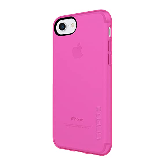 promo code b2836 ad24f Incipio NGP Pure iPhone 8 & iPhone 7/6/6s Case with Clear, Shock-Absorbing  Polymer for iPhone 8 & iPhone 7/6/6s - Hot Pink