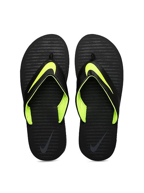 1dabb47108e61d Nike Men s Chroma 5 Black Flip Flops Thong Sandals-8 UK India (42.5 ...
