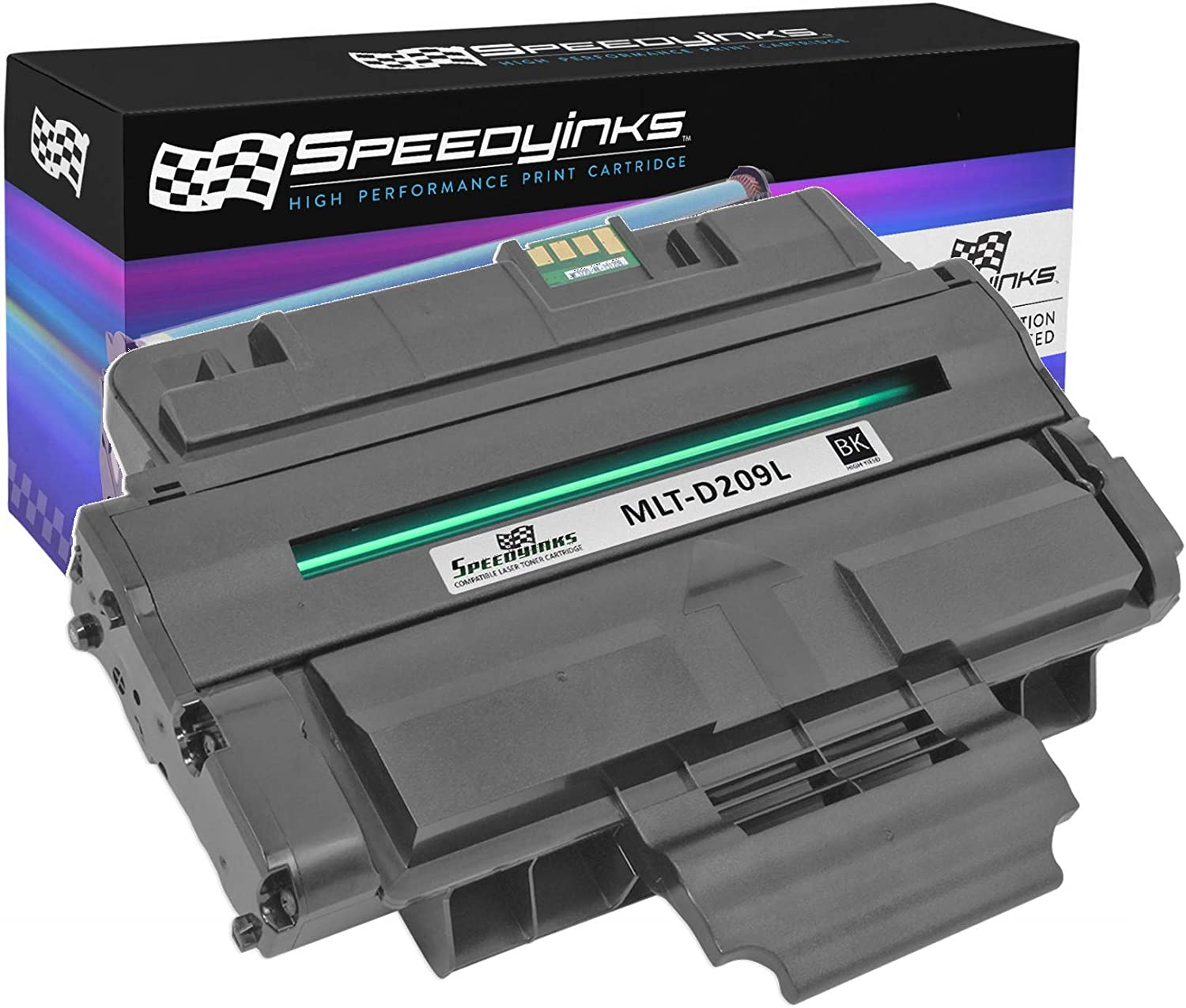 Inksters Compatible Toner Cartridge Replacement for Samsung MLT-D209L Black 5,000 Pages