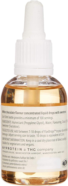 MyProtein Flavdrops Liquid Flavouring Saborizante Natural ...