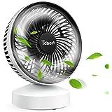 USB扇風機 卓上扇風機 静音 ミニ扇風機 usbファン 角度調節可能 省エネ 7枚羽根 熱中症対策 日本語説明書