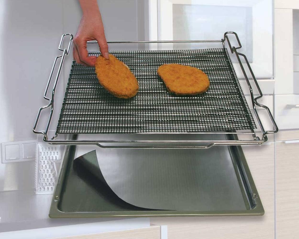 Cooks Innovations - Non-Stick Oven Crisper and Oven Liner Set