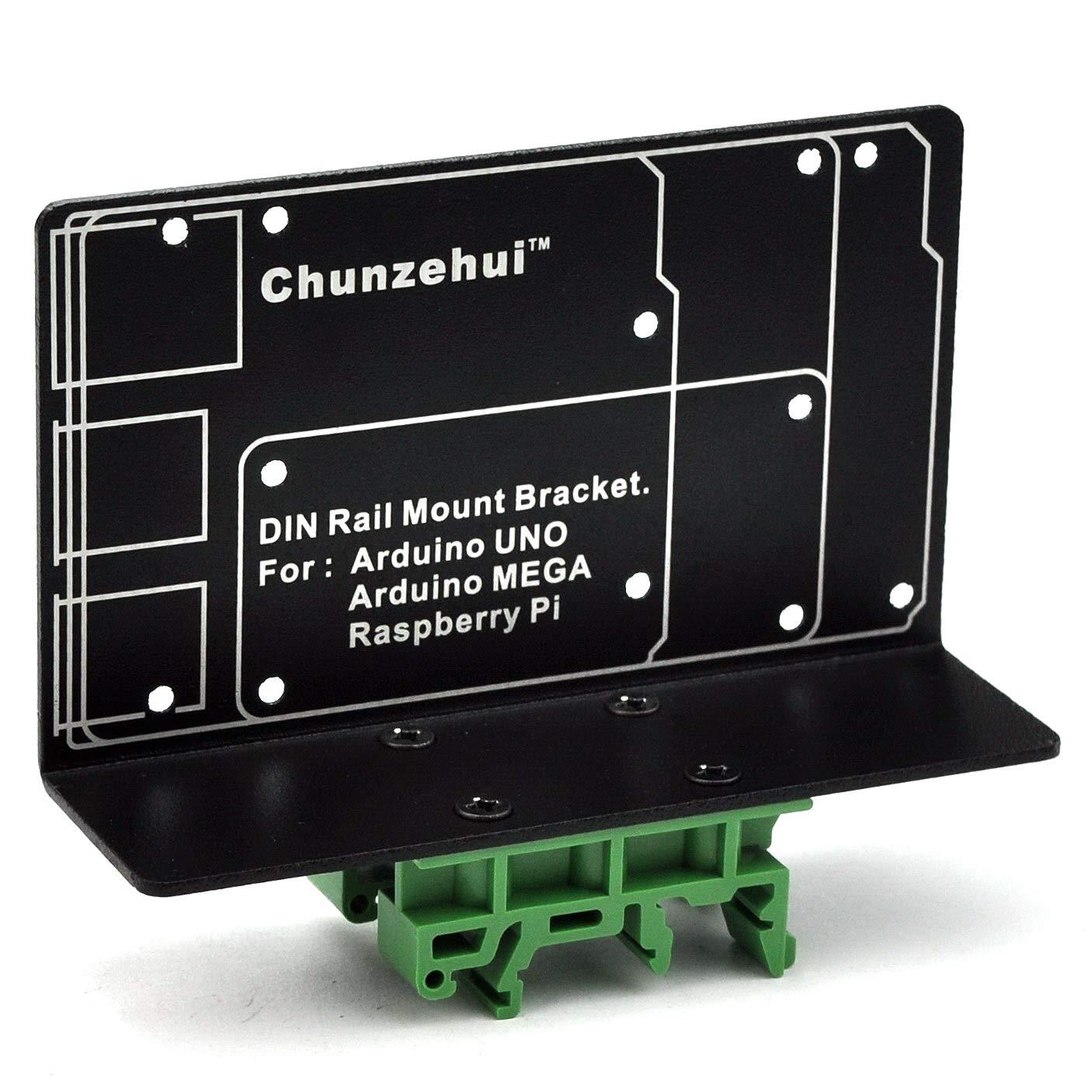 DIN Rail Mount Bracket for Raspberry Pi 2 3 B B+ Zero Arduino UNO MEGA
