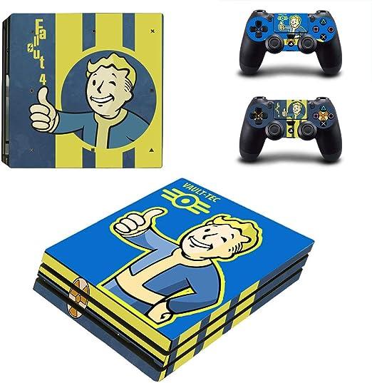 thtb Playstation 4 Pro + 2 controlador Diseño Sticker Protector Juego – Fallout 4/PS4 P: Amazon.es: Videojuegos