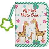 MOVEBO Kiddy Baby's My First Family Album | Soft Photo Cloth Book Gift Set for Newborn Toddler & Kids (Green)