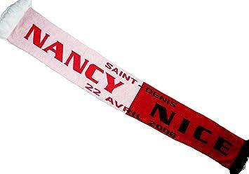 meilleur authentique commander en ligne mode attrayante Echarpe Football ASNL NANCY / OGC NICE - Finale Coupe de la ...