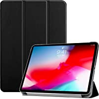 """Oaky Smart Case Compatible with iPad Pro 11"""" 2018 [Support Pencil's Magnetic Attachment and Wireless Charging] 2018 Release - Black"""
