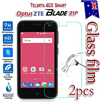 on sale bd24a 61962 2-Pack] Telstra 4GX Smart A112 / Optus ZTE Blade Zip L110 Tempered ...