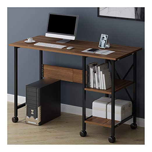 Cherry Tree Furniture 2 en 1 Mesa de escritorio extensible para ...