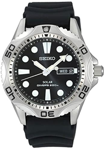 Seiko SNE107P2 Solar Powered Dive Watch